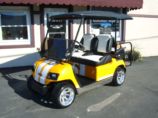 2003 Yamaha G22 Gas- Grabber Orange.  Too much to list!  Please call for details